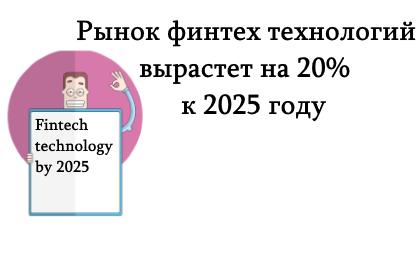 финтех технология к 2025 году